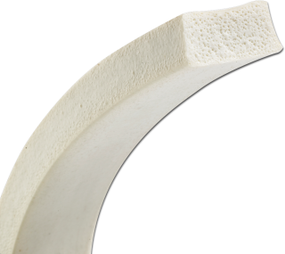 Kvateratisk silikoneskumsnøre