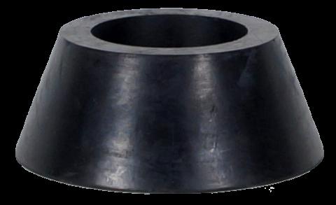 HETP Hul konisk gummiprop 225°C