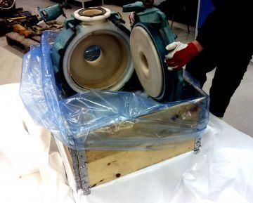 HP Masking - Stor VCI bag i brug.