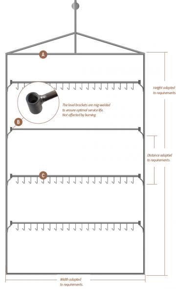 HP Masking - Universal ophængssystem