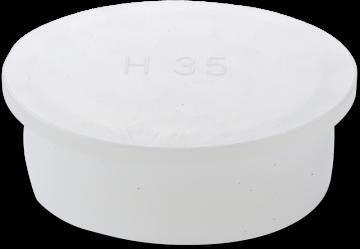 HP Masking - Konveks plastprop, HPK, gennemsigtig
