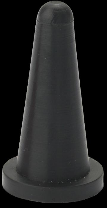 HP Masking - Sort Konisk flangehætte, CONS