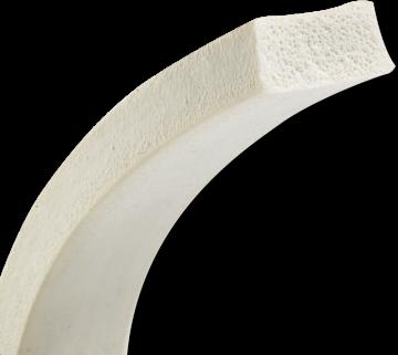 HP Masking - Kvateratisk silikoneskumsnøre