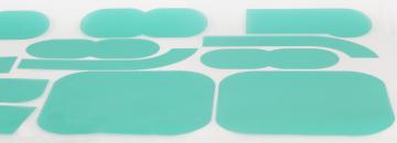 HP Masking - Specialudskæringer, AL12 liner